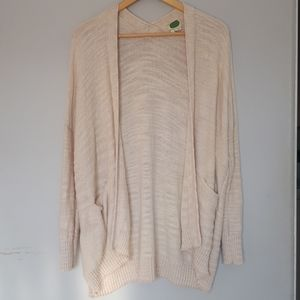 Anthropologie Cotton Blend Sweater - Medium